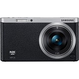 SAMSUNG Mirrorless Digital Camera NX Mini [NXF1] - Black - Camera Mirrorless